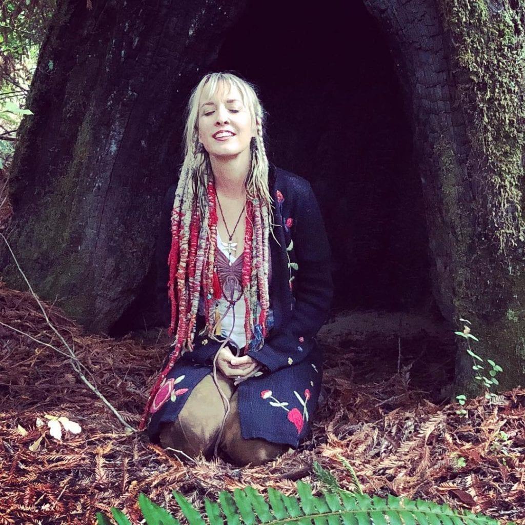 Larisa in the tree