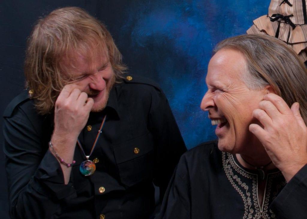 Rich & Benj laughing KES
